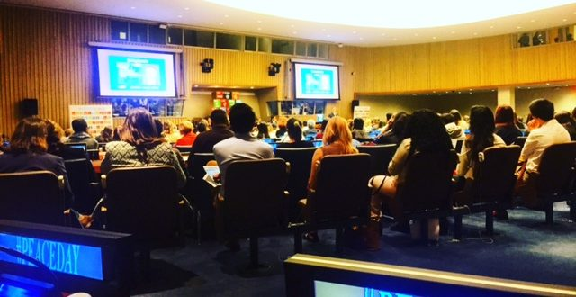 Peace Day Youth Summit at the United Nations Headquarters